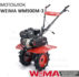 Мотоблок бензиновый WM900M-3 (Колеса 4.00-10 7.0 л.с. перед.3/1)